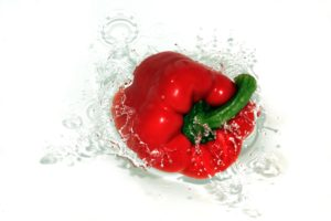 Paprika invriezen