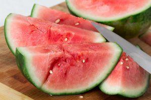 Watermeloen invriezen