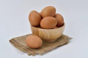 eieren invriezen