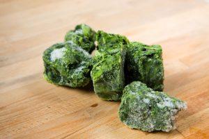 spinazie invriezen
