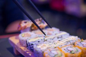 sushi invriezen