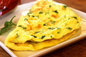 omelet invriezen